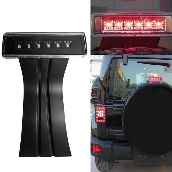 Fierce I 07-18 Jeep Wrangler JK & JKU LED Third Brake Light