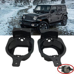 2018-2020 Jeep Wrangler JL, JLU & Gladiator 4 Inch LED Fog Light Mounting Brackets