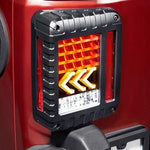 Ultimate IV 07-18 Jeep Wrangler LED Tail Lights JK & JK Unlimited