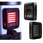 Ultimate III 07-18 Jeep Wrangler LED Tail Lights JK & JK Unlimited