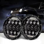 Rough III Headlights & Extreme I Fog Lights Value Pack V - 07-18 Jeep Wrangler JK & JKU LED Headlight and Fog Lights