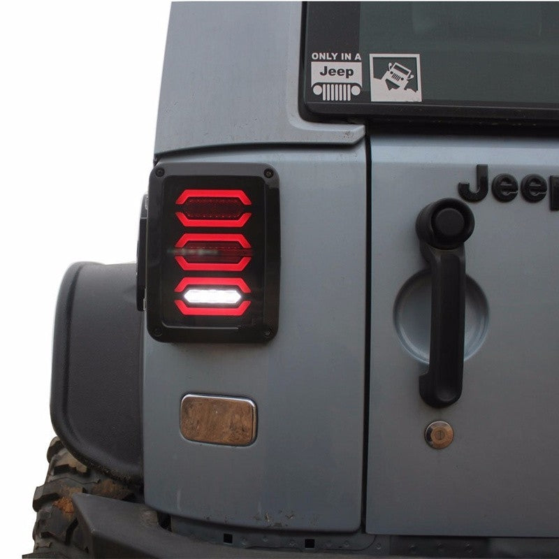 Ultimate II 07-18 Jeep Wrangler LED Tail Lights JK & JK Unlimited