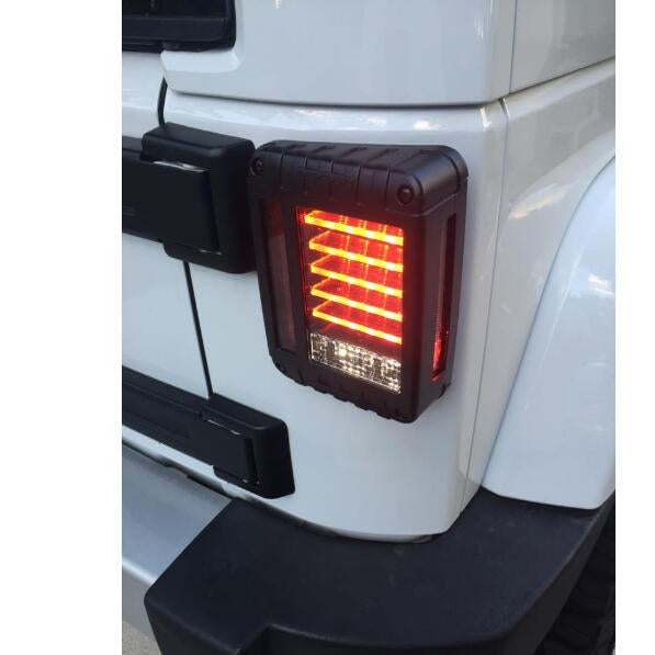 Ultimate III 07-18 Jeep Wrangler LED Tail Lights JK & JK Unlimited-MJ's Offroad