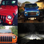 Rough I 97-18 Jeep Wrangler LED Headlights TJ, LJ, JK, JKU-MJ's Offroad