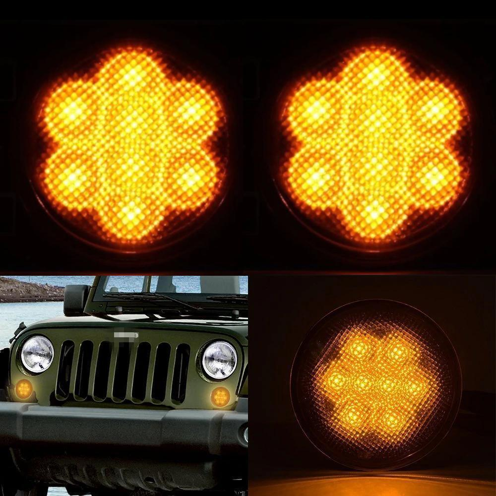 Extreme II Turn Signal Lights - 07-18 Jeep Wrangler LED Turn Signal Lights JK & JK Unlimited