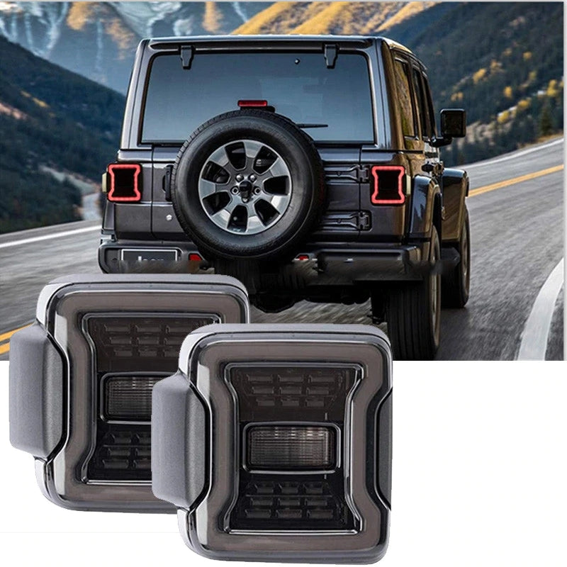 Ultimate VII 2018-2020 Jeep Wrangler JL & JLU LED Tail Lights-MJ's Offroad