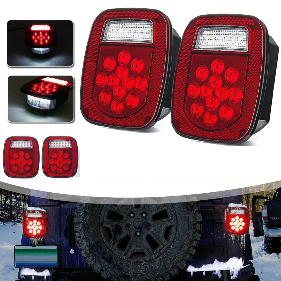 Ultimate VIII 97-06 Jeep Wrangler TJ LED Tail Lights