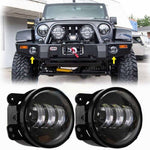 Extreme IV Fog Lights - 07-18 Jeep Wrangler LED Fog Lights JK & JK Unlimited-MJ's Offroad