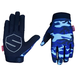 Shield Protectives Lite Gloves - Blue Camo £26.99