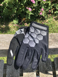 Prototapebrand Race Line Black/Grey Gloves £23.99