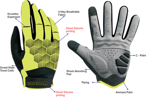Prototapebrand Fluo Yellow Gloves £23.99