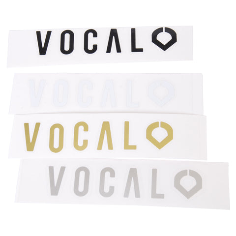 Vocal Die Cut Sticker £1.99