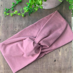 Dusty Pink Adult Twist Headband