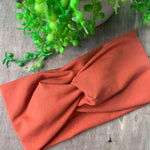 Terracotta Adult Twist Headband