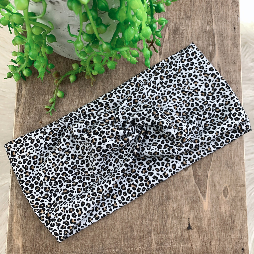 Leopard Adult Twist Headband