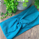 Teal Adult Twist Headband