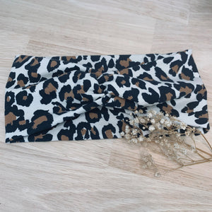 leopard adult headband