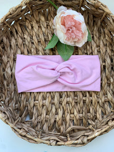 Baby Pink Adult Twist Headband