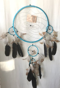 Black And Blue 5 Catcher Dream Catcher
