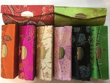 Lipstick Case With Mirror Embroidered Kimono Designs - Whats your colour!