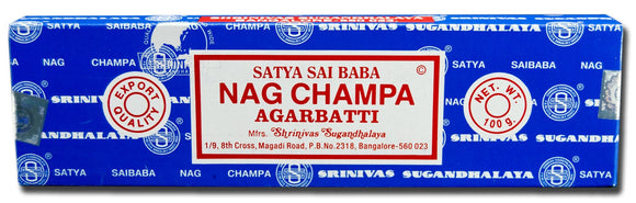 Certified Authentic Sai Baba Nag Champa Incense sticks