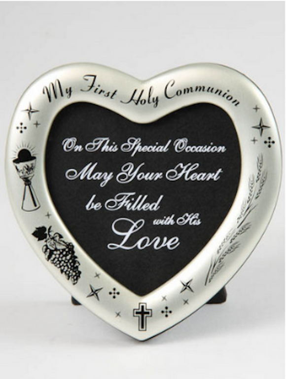 First Holy Communion Love Heart Frame