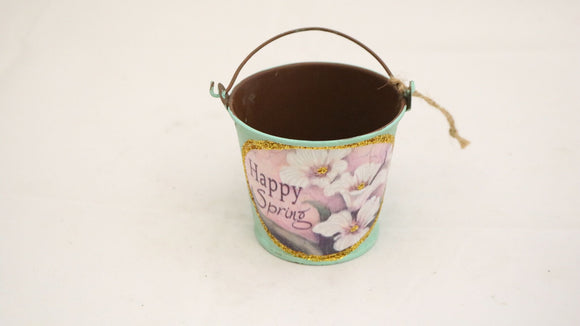 Happy Spring Mini decorative Bucket