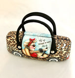 Glasses Case With Handles - 'Queen Of Sass' Sue Janson Australia Design