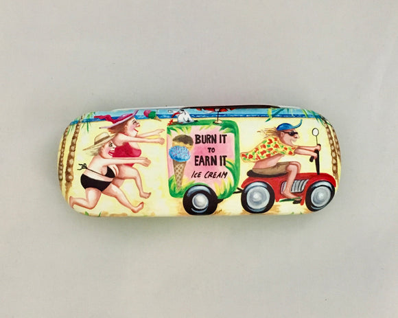 Glasses Case - 'Burn It To Earn It' Sue Janson Australia Design