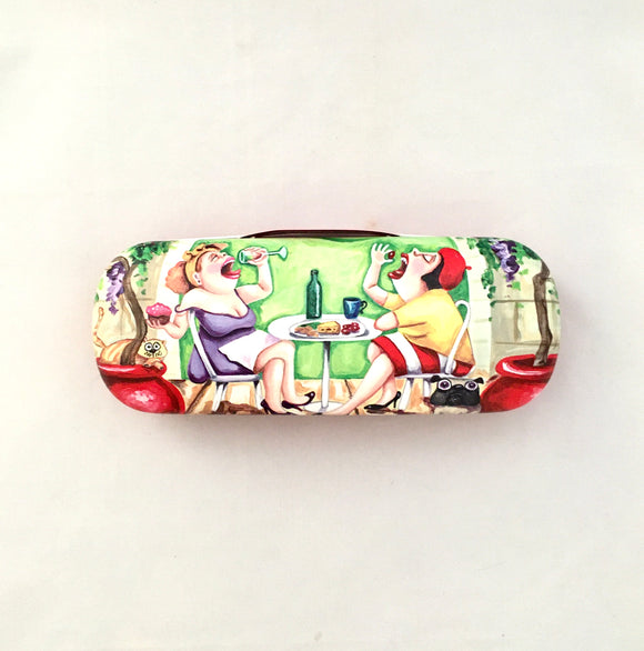 Glasses Case - 'Brunch' Sue Janson Australia Design