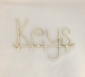 White Keys Wall Hook