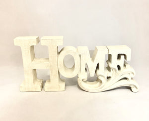 Large Home Sign Decor