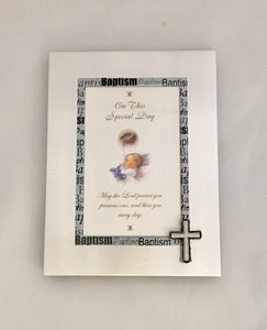 On This Special Day Baptism photo frame