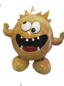 Yellow Happy Monster Money Box