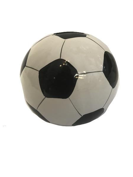 Small Soccer Football Money Box 11cm