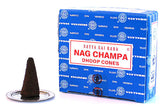 Certified Authentic Sai Baba Nag Champa Incense Dhoop Cones