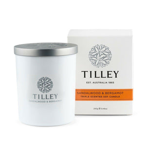 Tilley 45hrs Soy Triple Scented Candle