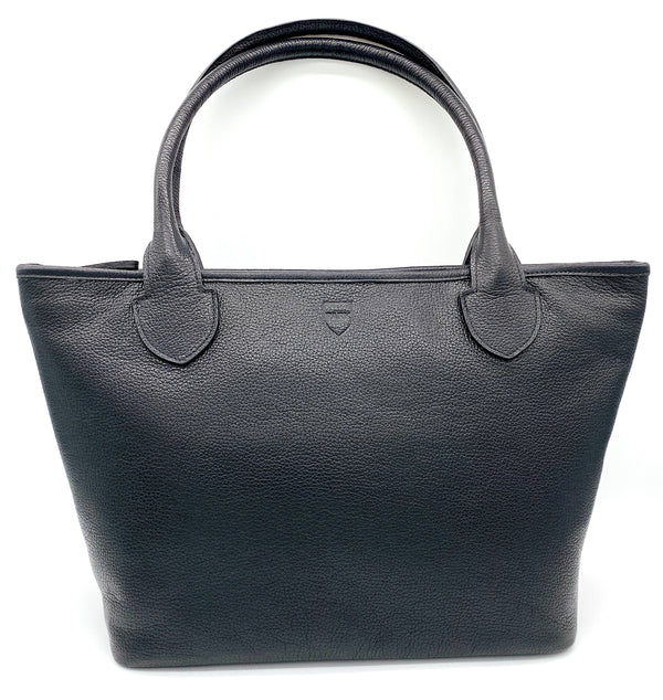 WOODLANDS LUX LEATHER TOTE: New Arrivals by PARK Accessories