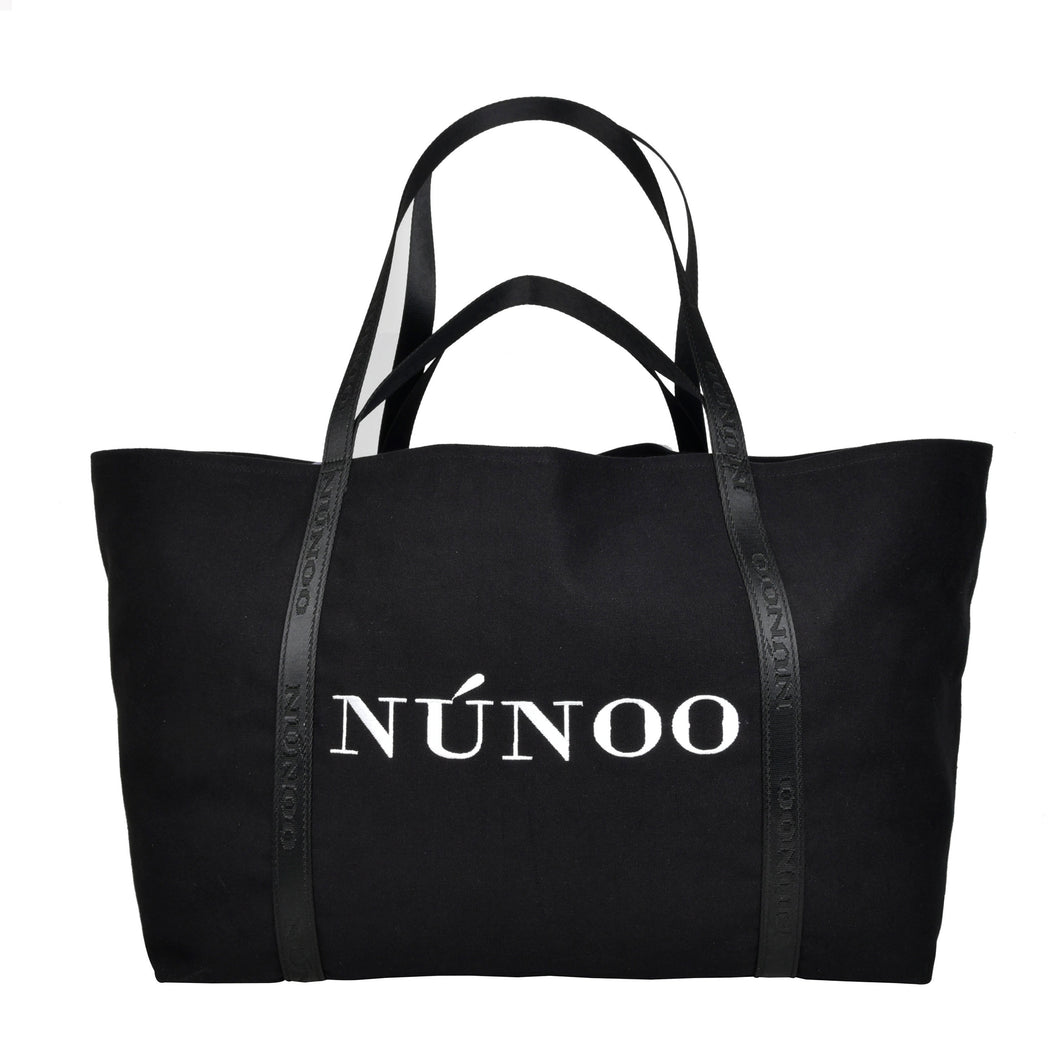Núnoo Big bag recycled canvas black Tote