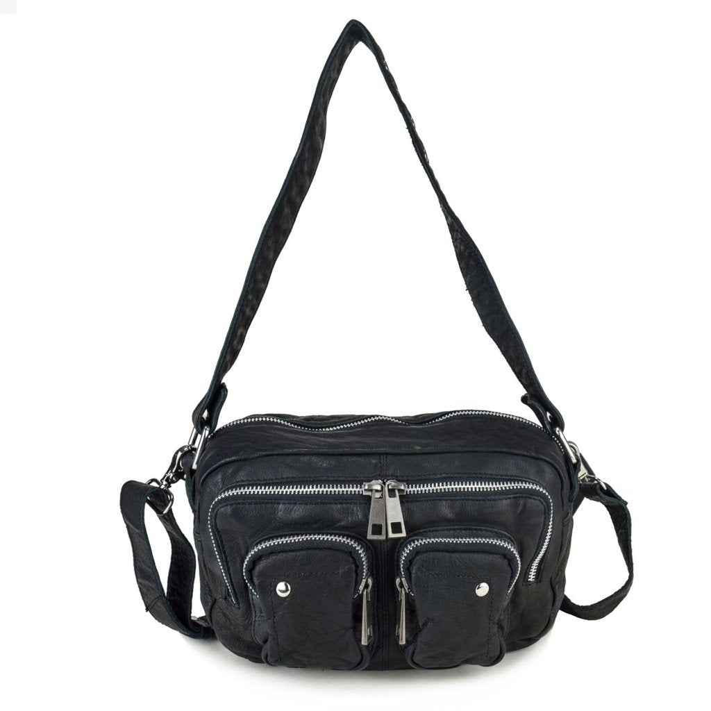 Núnoo Ellie washed Crossbody Black