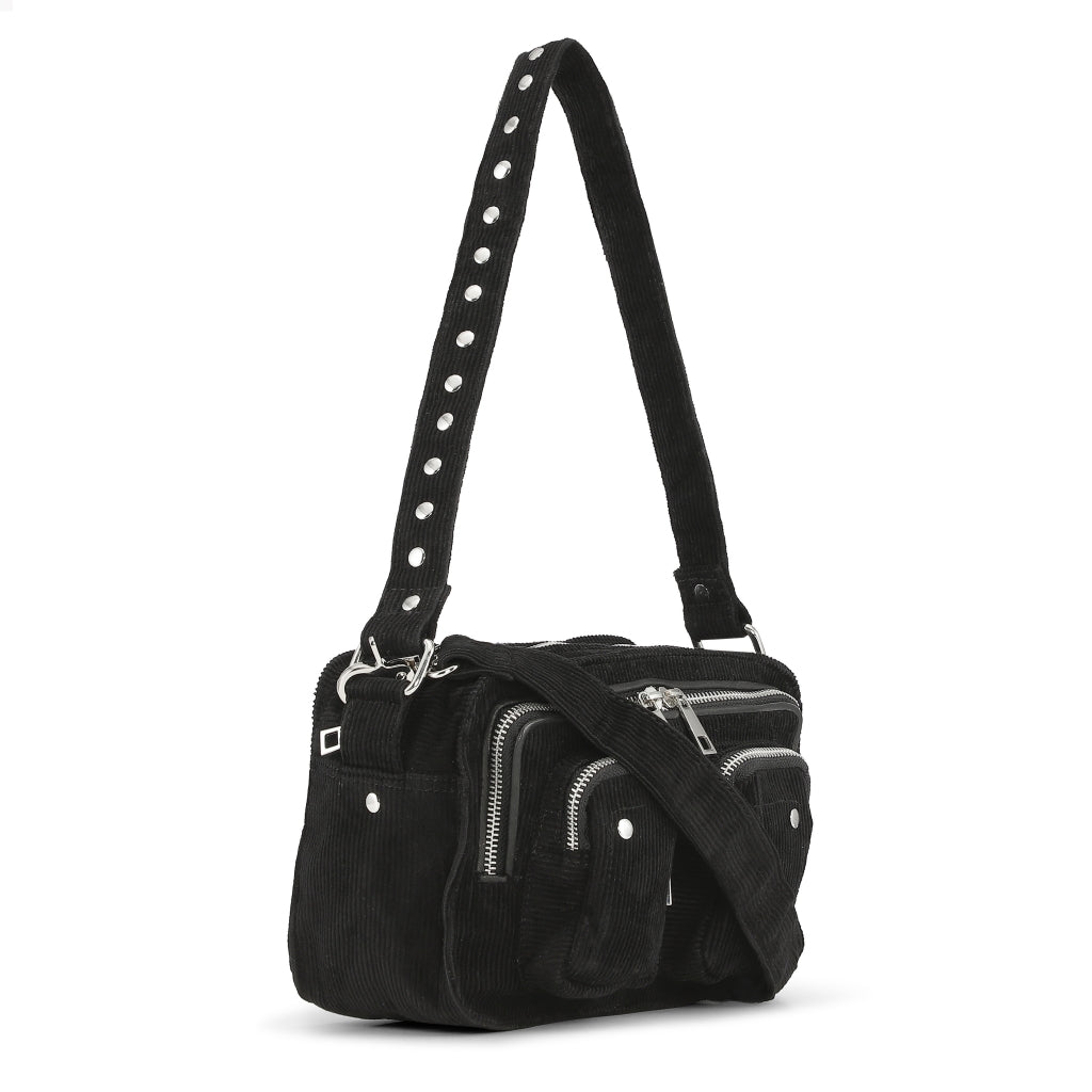 Núnoo Ellie corduroy black Crossbody