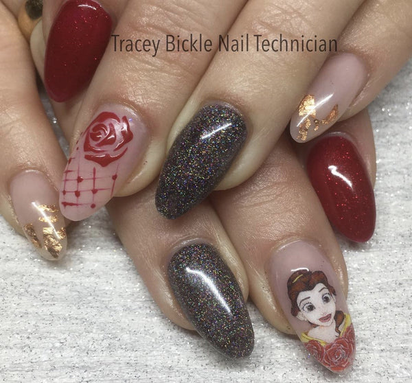 Belle & Red Roses