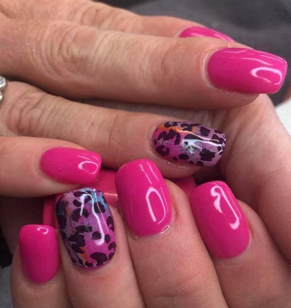 Bright Multi Leopard Spot