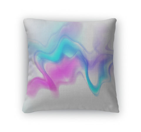 Throw Pillow, Abstract - Bizzy Lizzy