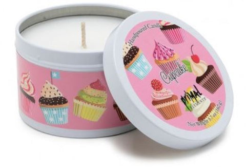 Primal Elements Candle in Tin, Cupcake - Bizzy Lizzy