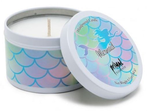Primal Elements Candle in Tin, Mermaid - Bizzy Lizzy