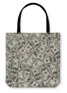 Tote Bag, Dollars - Bizzy Lizzy