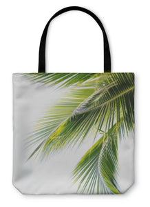 Tote Bag, Palm Leaf - Bizzy Lizzy