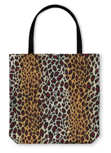 Tote Bag, Jaguar Skin Pattern - Bizzy Lizzy