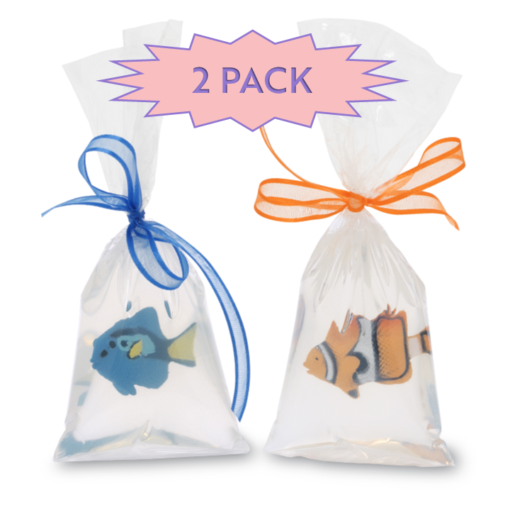 Primal Elements Fish in a Bag Glycerin Soap, 2 Pack - Bizzy Lizzy